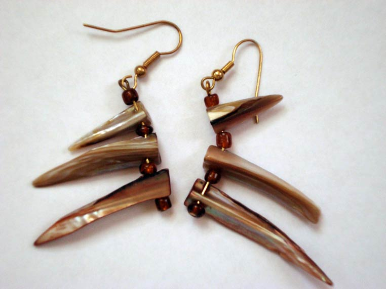 Whatever is Lovely by Cynthia Ford earrings