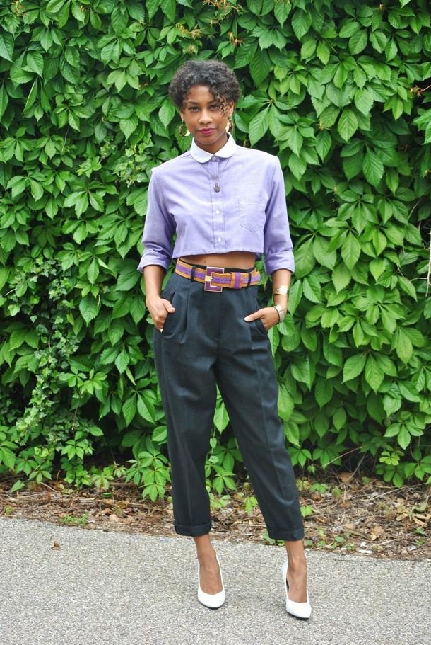 DIY fashion crop top