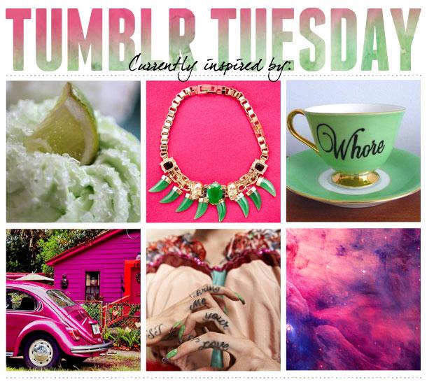 Tumblr Tuesday Margarita Cupcakes And Pink Beetles