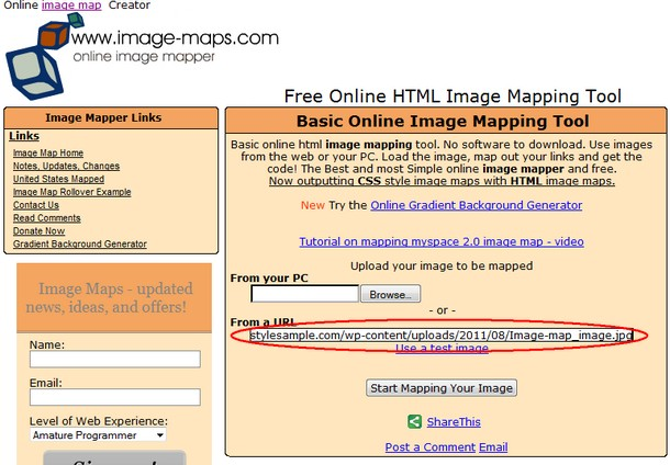 free online html image mapping tool