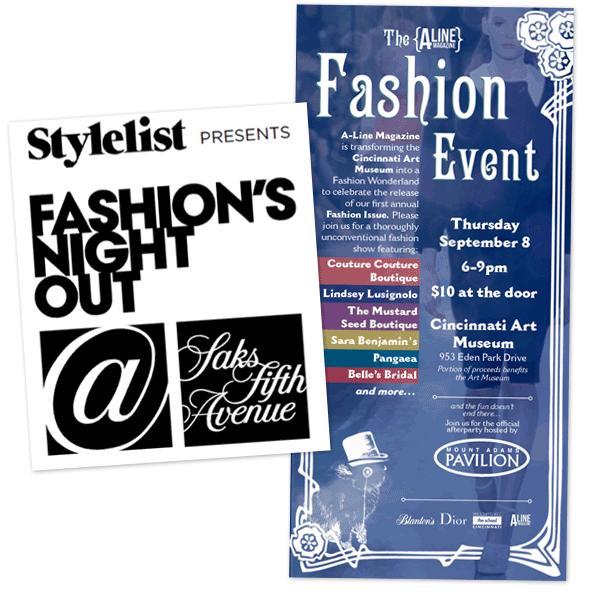 Fashion's Night Out 2011 Saks Cincinnati A-Line Magazine