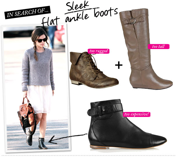 flat ankle boots with jeans - photo #37