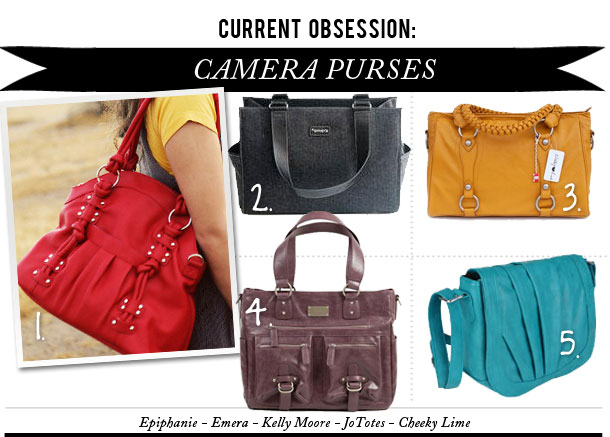 Cur Obsession Camera Purses