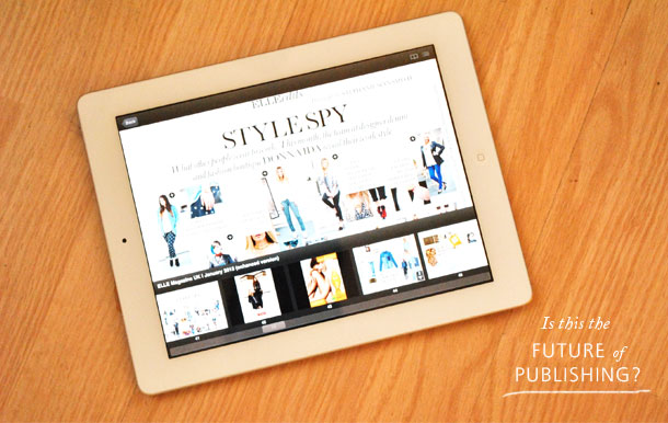 Magazine on iPad