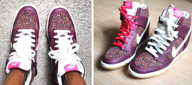 Nike x Liberty Sky High Dunks