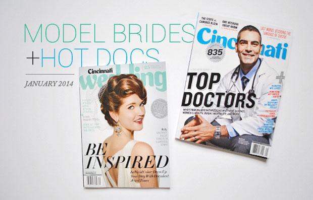 Cincinnati Wedding Magazine fashion stylist