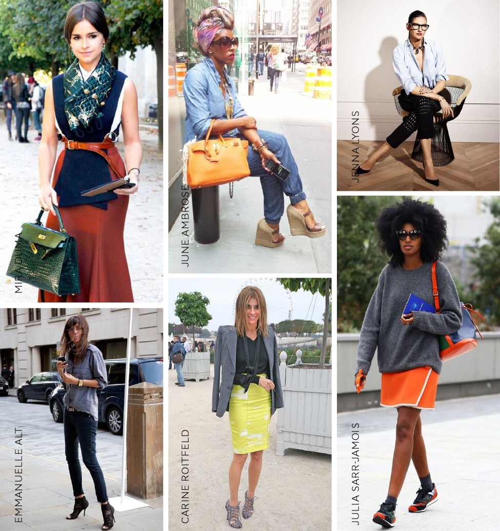 These editors have defined their look