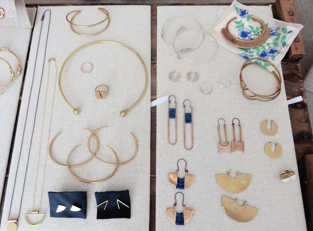 They have a small but well-curated selection of jewelry--I pulled a few pieces for a recent photo shoot