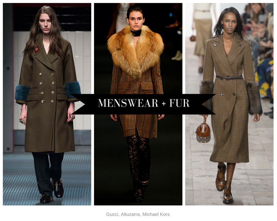 Menswear and fur