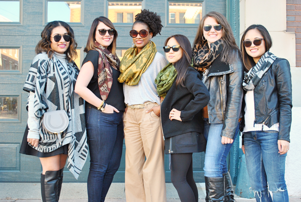 bene scarves cincinnati fashion stylist blog