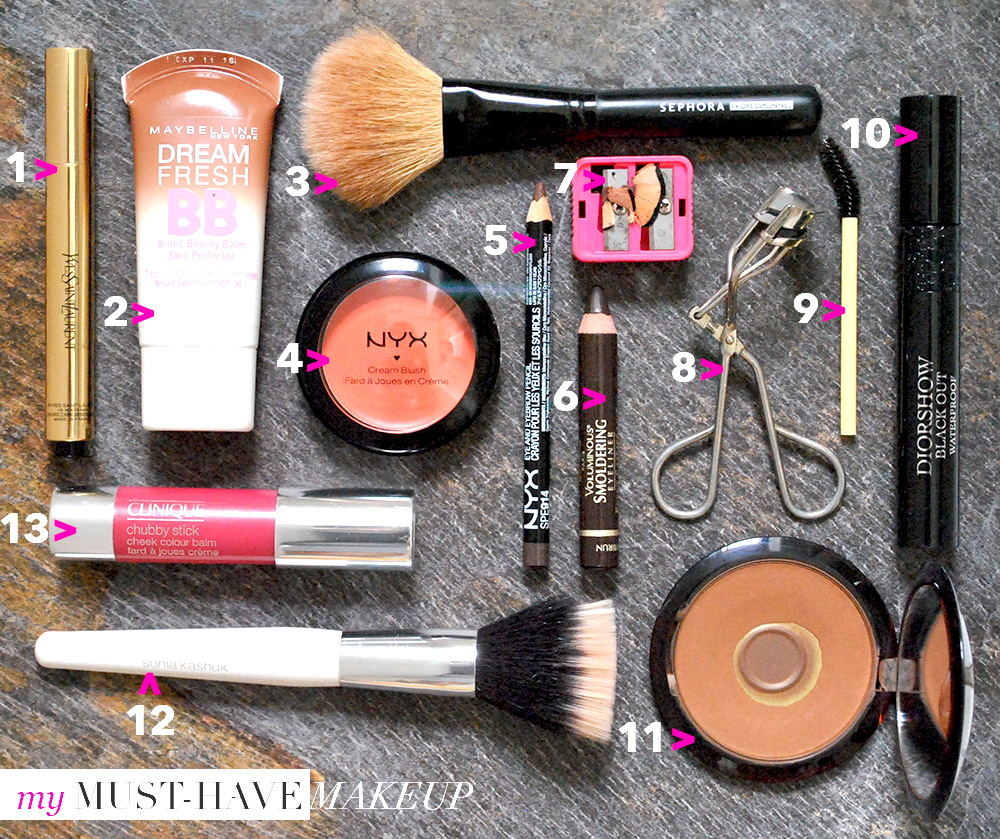 fashion stylist blog makeup must haves