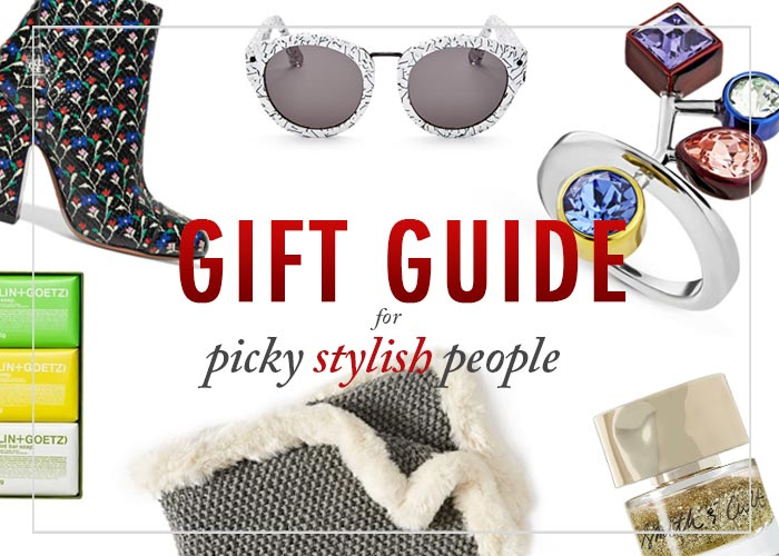gift guide for picky stylish people